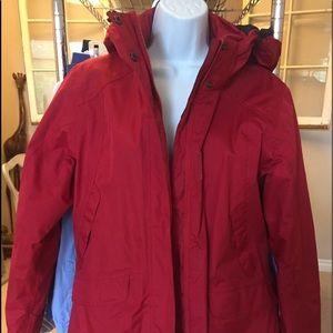 Misty mountain ski coat